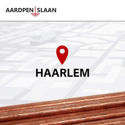 Aardpen slaan Haarlem