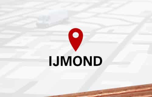 Aardpen slaan in de IJmond
