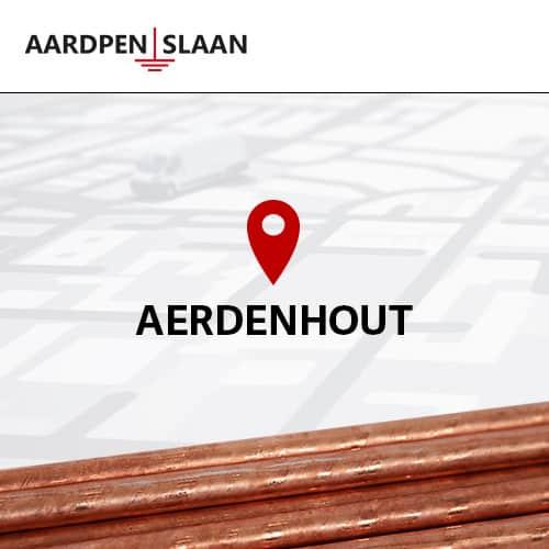 Aardpen slaan Aerdenhout
