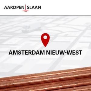 Aardpen slaan Amsterdam Nieuw-West