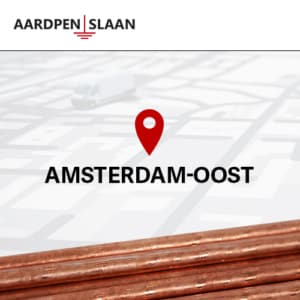 Aardpen slaan Amsterdam-Oost