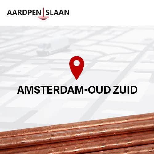 Aardpen slaan Amsterdam Oud-Zuid
