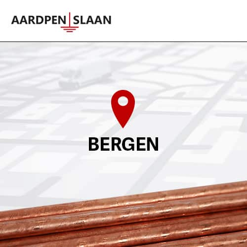 Aardpen slaan Bergen