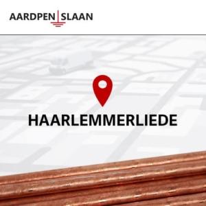Aardpen slaan Haarlemmerliede