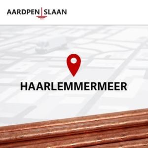 Aardpen slaan Haarlemmermeer