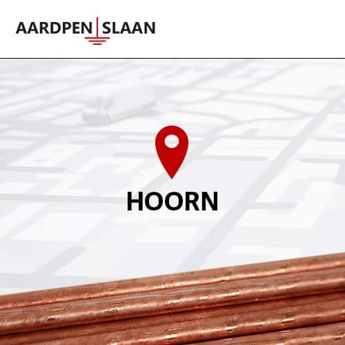 Aardpen slaan Hoorn