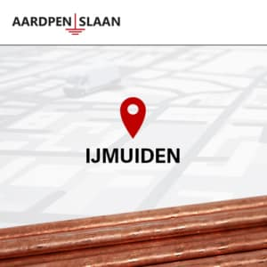 Aardpen slaan IJmuiden