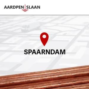 Aardpen slaan Spaarndam
