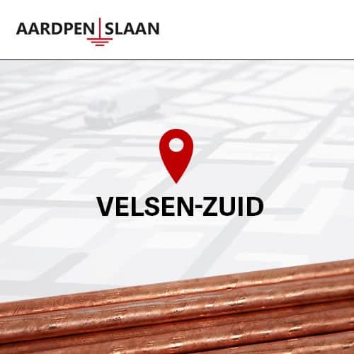 Aardpen slaan Velsen-Zuid