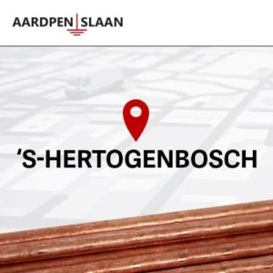 Aardpen slaan 's-Hertogenbosch