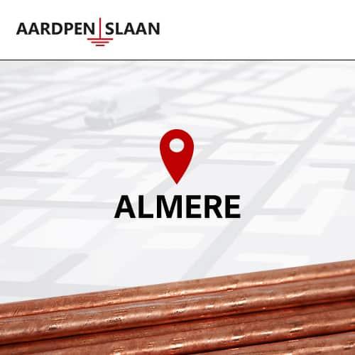 Aardpen slaan Almere