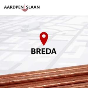 Aardpen slaan Breda