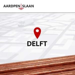 Aardpen slaan Delft