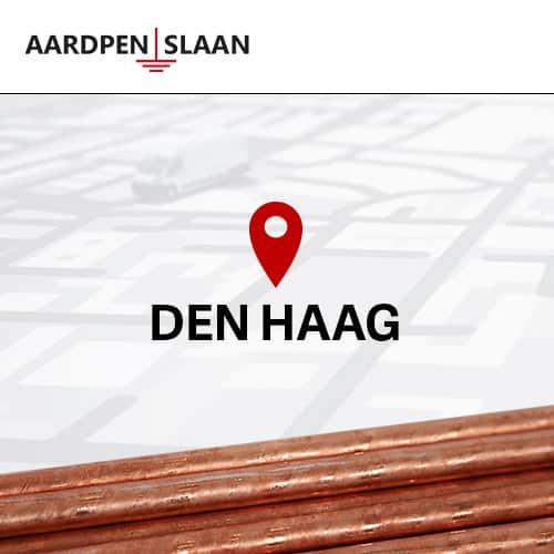 Aardpen slaan Den Haag