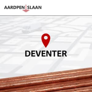 Aardpen slaan Deventer