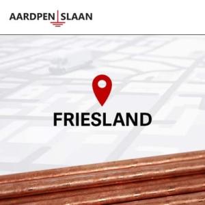 Aardpen slaan Friesland