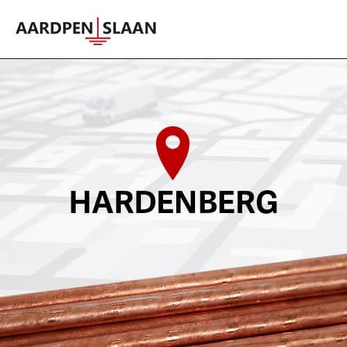 Aardpen slaan Hardenberg