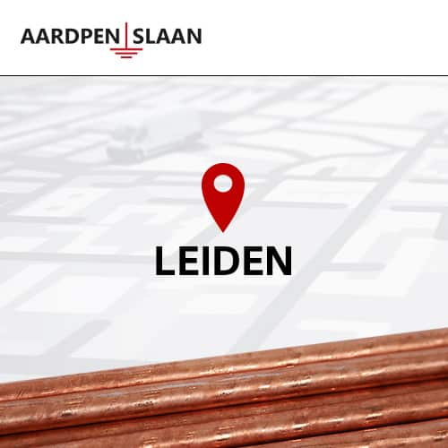 Aardpen slaan Leiden
