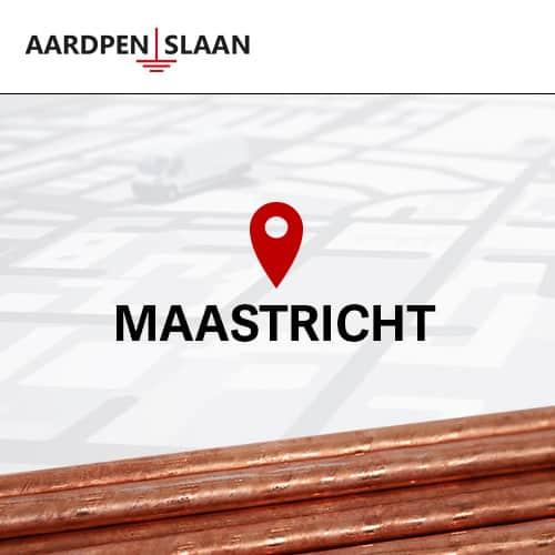 Aardpen slaan Maastricht