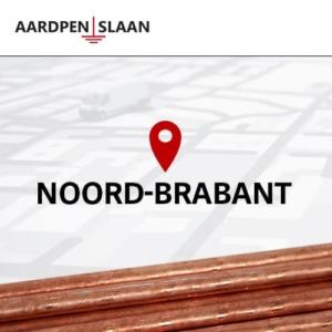 Aardpen slaan Noord-Brabant