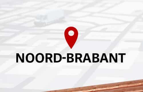 Aardpen slaan Noord Brabant