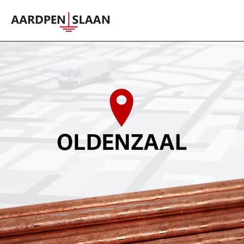 Aardpen slaan Oldenzaal