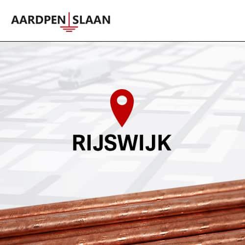 Aardpen slaan Rijswijk