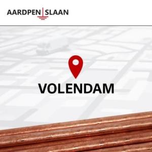 Aardpen slaan Volendam