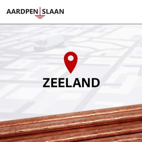 Aardpen slaan Zeeland