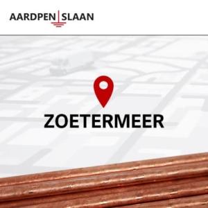 Aardpen slaan Zoetermeer